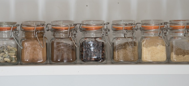 kilner spice jars