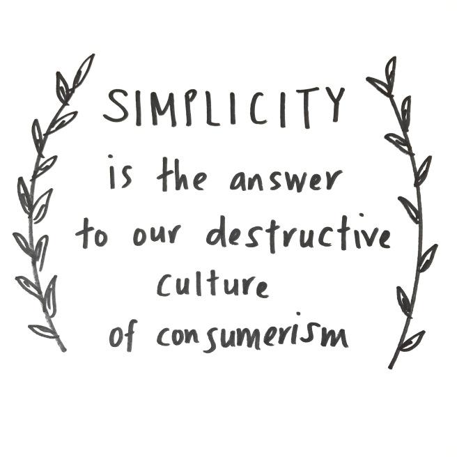 Simplicity vs Consumerism